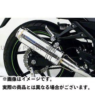 WirusWin ニンジャ250R マフラー本体 Ninja250R用ダイナミックマフラー バズーカータイプ フルパワーバージョン O2センサー取付口対応 サイレンサー:ブラックカーボン仕様 ウイルズウィン