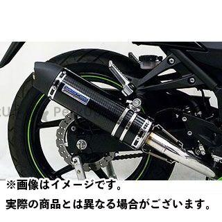 WirusWin ニンジャ250R マフラー本体 Ninja250R用ダイナミックマフラー ユーロタイプ フルパワーバージョン O2センサー取付口対応 サイレンサー:ブラックカーボン仕様 ウイルズウィン