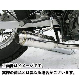 【エントリーで更にP5倍】WirusWin バンバン200 マフラー本体 バンバン200(BA-NH41A)用 ドラッグバイソンマフラー スポーツタイプ ウイルズウィン