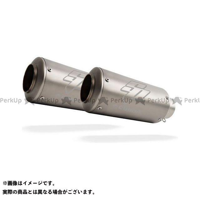 【無料雑誌付き】COBRA GSR400 GSR600 マフラー本体 SP1 Slip-on Dual underseat Road Legal/EEC/ABE homologated Suzuki GSR 600 - GSR 400 コブラ