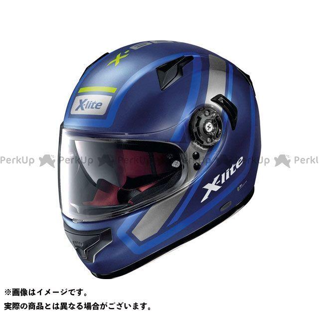 エックスライト フルフェイスヘルメット X-661 Comrade N-Com Helmet(ホワイト-ブルー)X61000702041 サイズ:XL X-lite