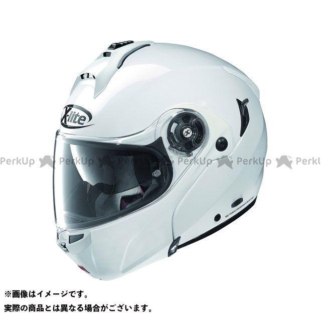 エックスライト システムヘルメット(フリップアップ) X-1004 Elegance N-Com Helmet(ホワイト)X1G000205003 サイズ:L X-lite