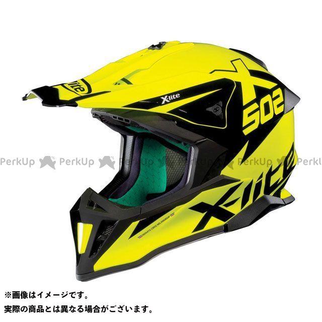 エックスライト オフロードヘルメット X-502 Matris Helmet(イエロー-ブラック)X52000449016 サイズ:XXS X-lite