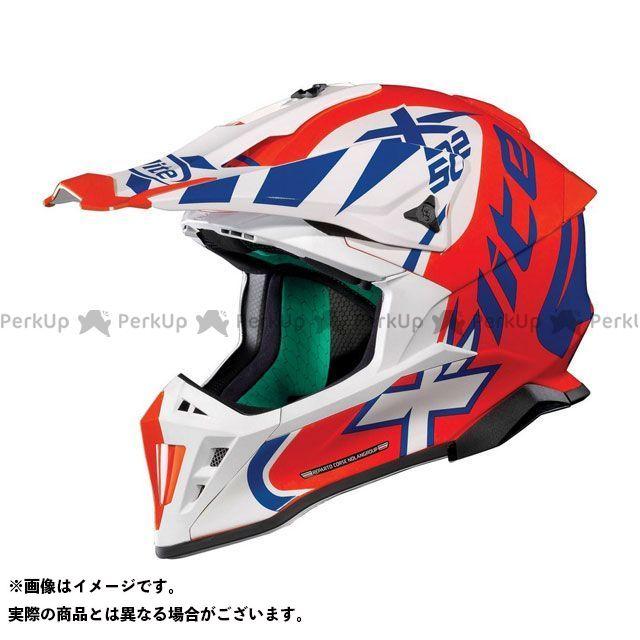 エックスライト オフロードヘルメット X-502 Xtrem Helmet(ブルー-ホワイト-レッド)X52000457019 サイズ:S X-lite