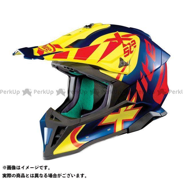 エックスライト オフロードヘルメット X-502 Xtrem Helmet(レッド-ブルー-イエロー)X52000457018 サイズ:2XL X-lite