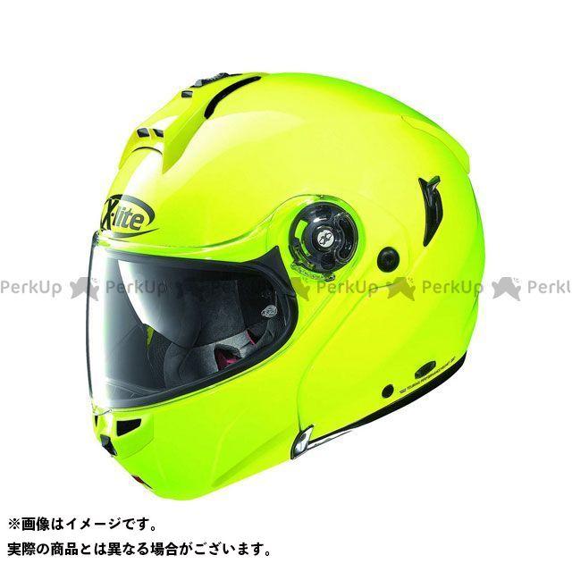 エックスライト システムヘルメット(フリップアップ) X-1004 Hi-Visibility N-Com Helmet(イエロー)X1G000079009 サイズ:S X-lite