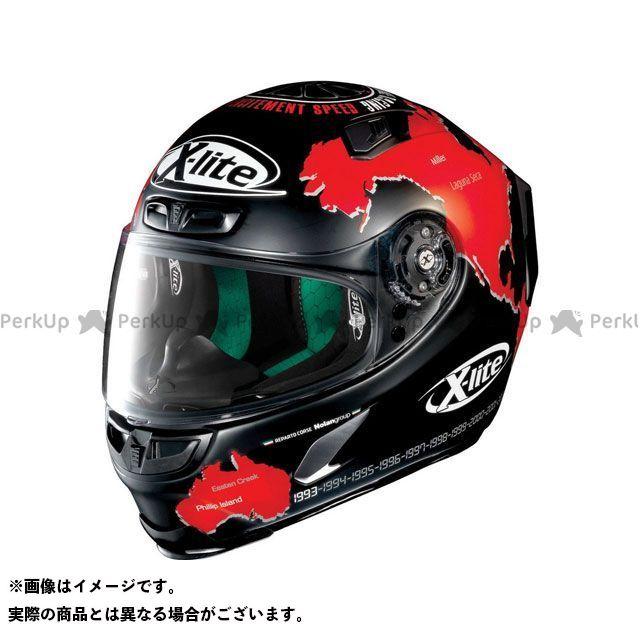 エックスライト フルフェイスヘルメット X-803 Replica Checa Helmet(レッド-ブラック)X83000606015 サイズ:XS X-lite