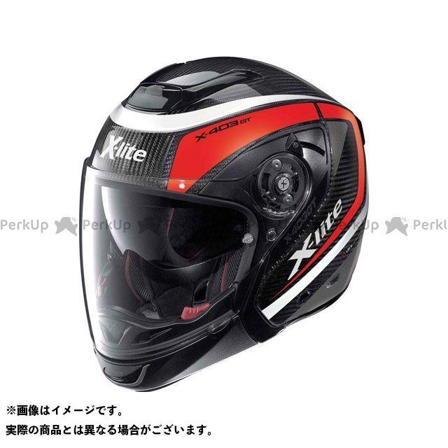 エックスライト ジェットヘルメット X-403 Gt Ultra Carbon Meridian N-Com Helmet(レッド-ブラック)X4U000376008 サイズ:S X-lite
