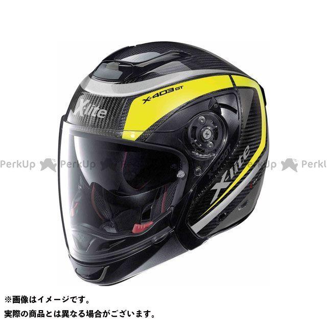 エックスライト ジェットヘルメット X-403 Gt Ultra Carbon Meridian N-Com Helmet(イエロー-ブラック)X4U000376009 サイズ:XL X-lite