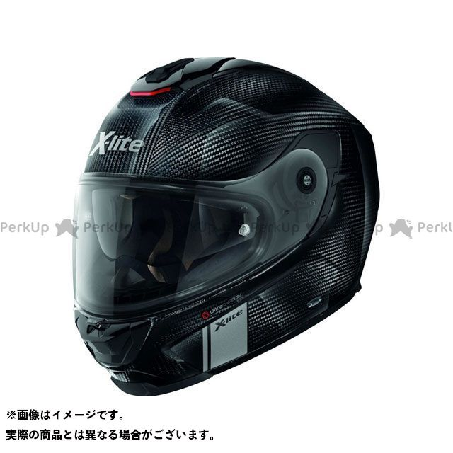 エックスライト フルフェイスヘルメット X-903 Ultra Carbon Modern Class N-Com Helmet(Gloss ブラック)X9U000373001 サイズ:XL X-lite