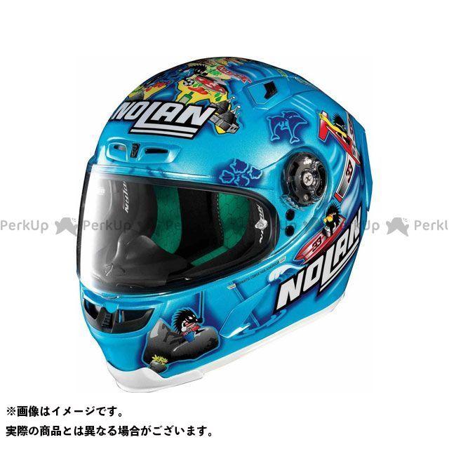 エックスライト フルフェイスヘルメット X-803 Replica Melandri Italy Helmet(ブルー-イエロー)X83000606022 サイズ:S X-lite