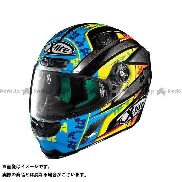 エックスライト フルフェイスヘルメット X-803 Replica Camier Helmet(ブルー-イエロー)X83000606025 サイズ:L X-lite