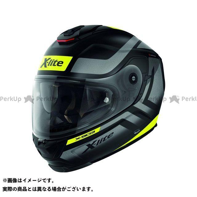 エックスライト フルフェイスヘルメット X-903 Airborne N-Com Helmet(イエロー-ブラック)X93000387012 サイズ:3XL X-lite