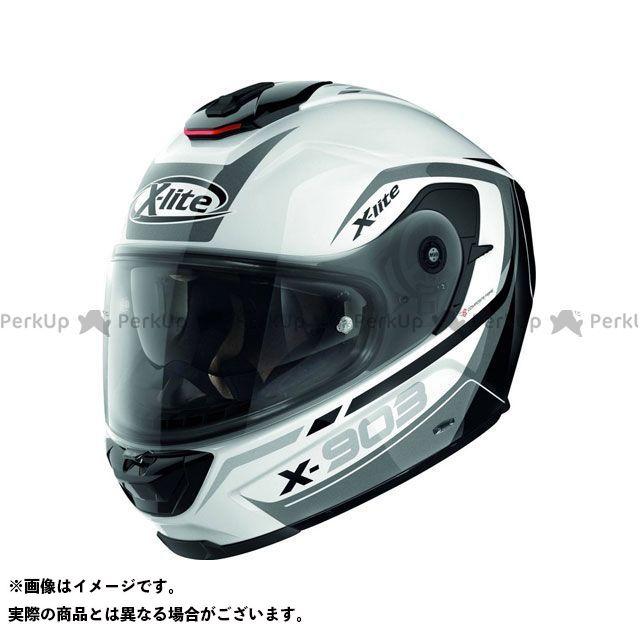 エックスライト フルフェイスヘルメット X-903 Cavalcade N-Com Helmet(ブラック-ホワイト)X93000367021 サイズ:M X-lite