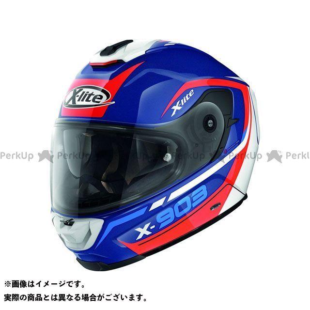 エックスライト フルフェイスヘルメット X-903 Cavalcade N-Com Helmet(ブルー-ホワイト-レッド)X93000367024 サイズ:XXS X-lite
