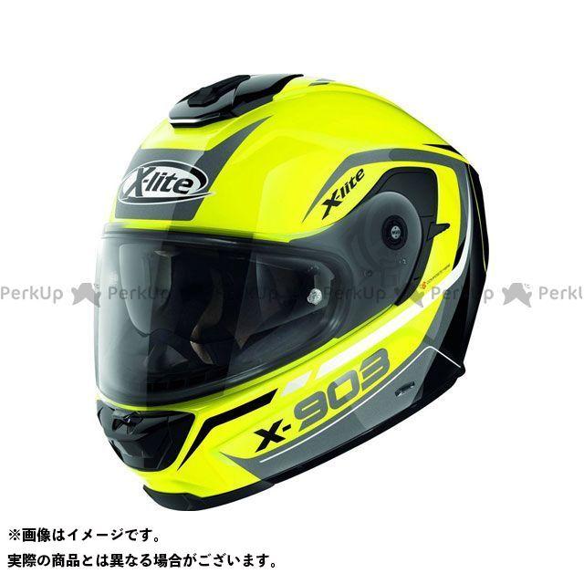エックスライト フルフェイスヘルメット X-903 Cavalcade N-Com Helmet(イエロー-ブラック)X93000367023 サイズ:M X-lite