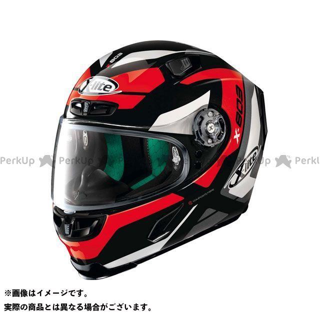 エックスライト フルフェイスヘルメット X-803 Mastery Helmet(ホワイト-ブラック-レッド)X83000386032 サイズ:2XL X-lite