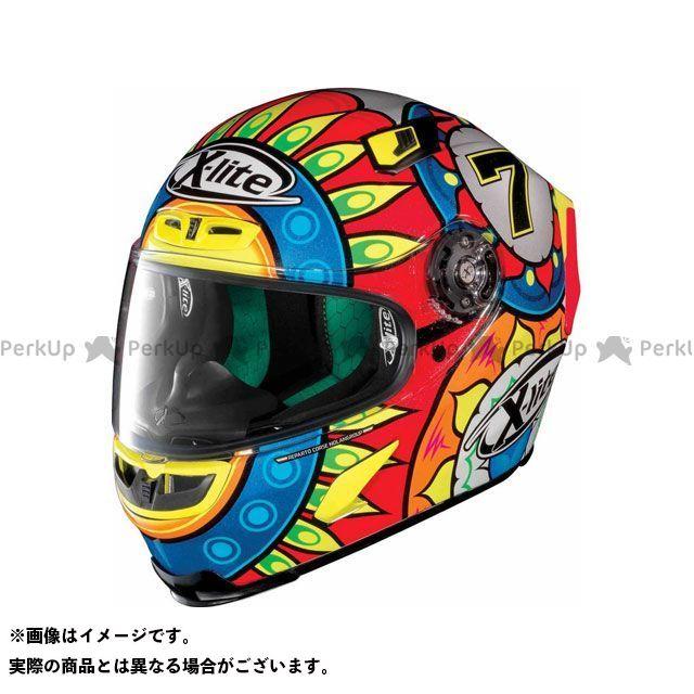 エックスライト フルフェイスヘルメット X-803 Replica Davies Helmet(ブルー-レッド)X83000606019 サイズ:XS X-lite