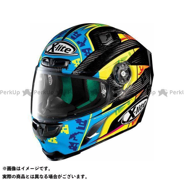 エックスライト フルフェイスヘルメット X-803 Ultra Carbon Replica Camier Helmet(ブルー-イエロー)U83000606023 サイズ:S X-lite