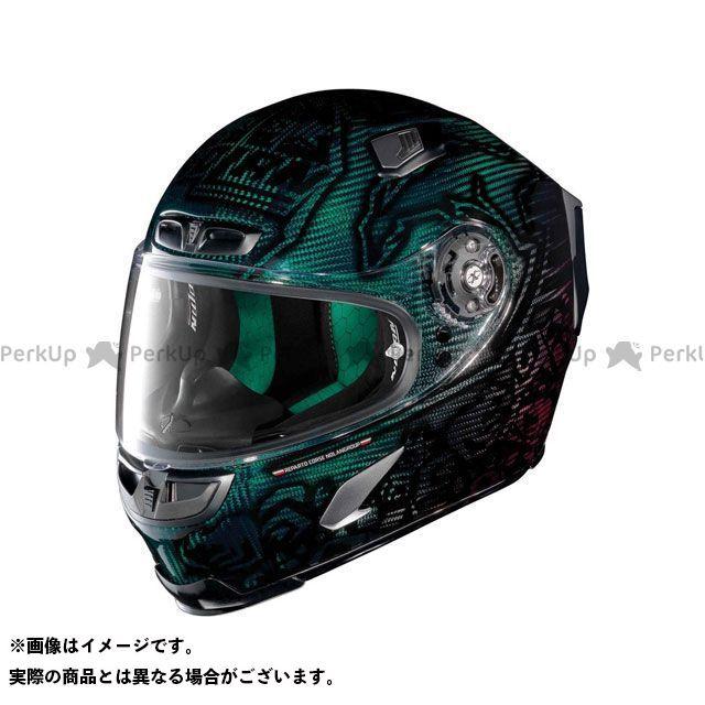 エックスライト フルフェイスヘルメット X-803 Ultra Carbon Replica Stoner Superhero Helmet(ブラック-グリーン)U83000606018 サイズ:XL X-lite