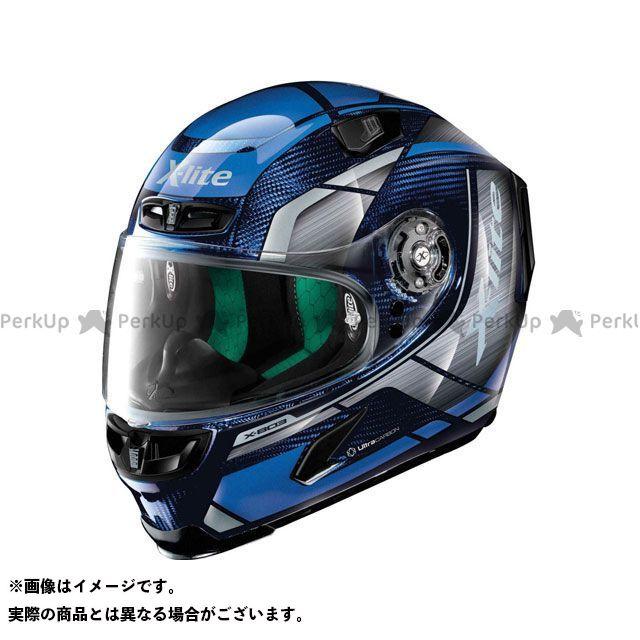 エックスライト フルフェイスヘルメット X-803 Agile Ultra Carbon Helmet(ブラック-ブルー)U83000366049 サイズ:S X-lite