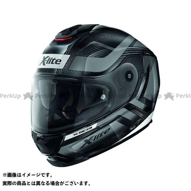 エックスライト フルフェイスヘルメット X-903 Ultra Carbon Airborne N-Com Helmet(グレー-ブラック)X9U000387021 サイズ:M X-lite