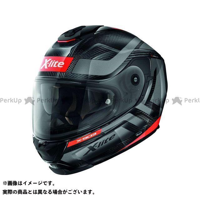 エックスライト フルフェイスヘルメット X-903 Ultra Carbon Airborne N-Com Helmet(レッド-ブラック)X9U000387022 サイズ:2XL X-lite