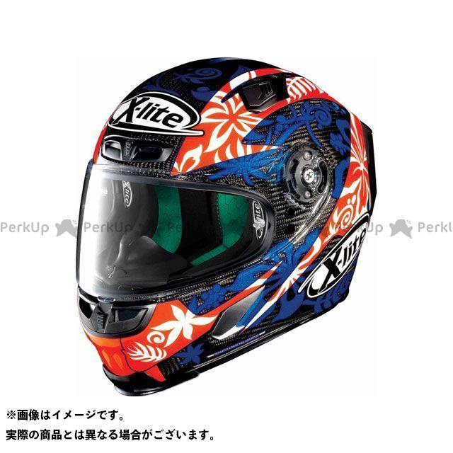 エックスライト フルフェイスヘルメット X-803 Ultra Carbon Replica Petrucci Helmet(ブルー-オレンジ)U83000606020 サイズ:XL X-lite