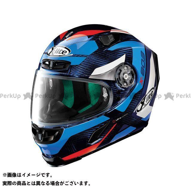 エックスライト フルフェイスヘルメット X-803 Mastery Ultra Carbon Helmet(ブルー-ホワイト-レッド)U83000386040 サイズ:XS X-lite