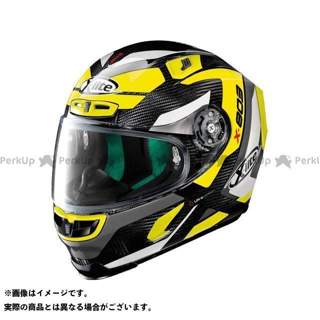エックスライト フルフェイスヘルメット X-803 Mastery Ultra Carbon Helmet(イエロー-ブラック)U83000386043 サイズ:XL X-lite