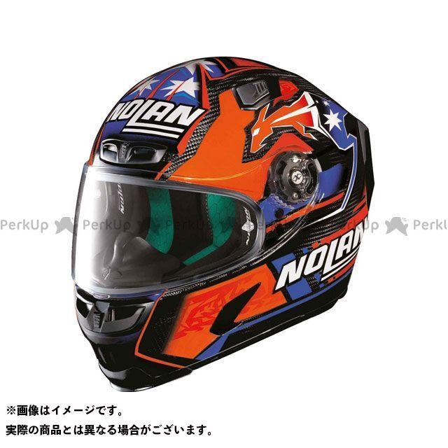 エックスライト フルフェイスヘルメット X-803 Ultra Carbon Replica Stoner Helmet(ブルー-オレンジ-ホワイト)U83000606025 サイズ:XL X-lite