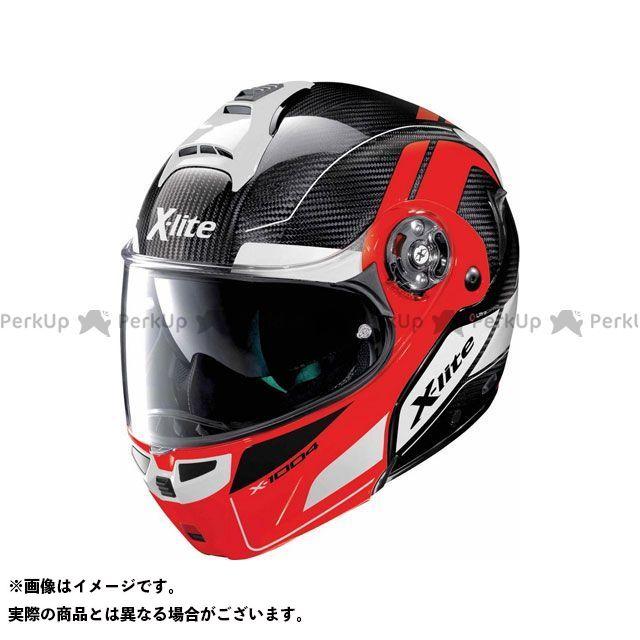 エックスライト システムヘルメット(フリップアップ) X-1004 Ultra Carbon Charismatic Helmet(レッド-ブラック)X14000797015 サイズ:XL X-lite