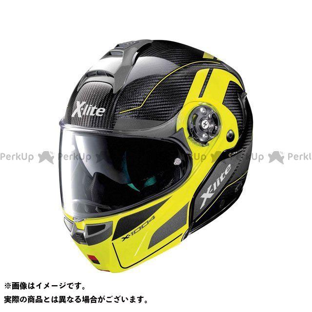 エックスライト システムヘルメット(フリップアップ) X-1004 Ultra Carbon Charismatic Helmet(イエロー-ブラック)X14000797014 サイズ:3XL X-lite
