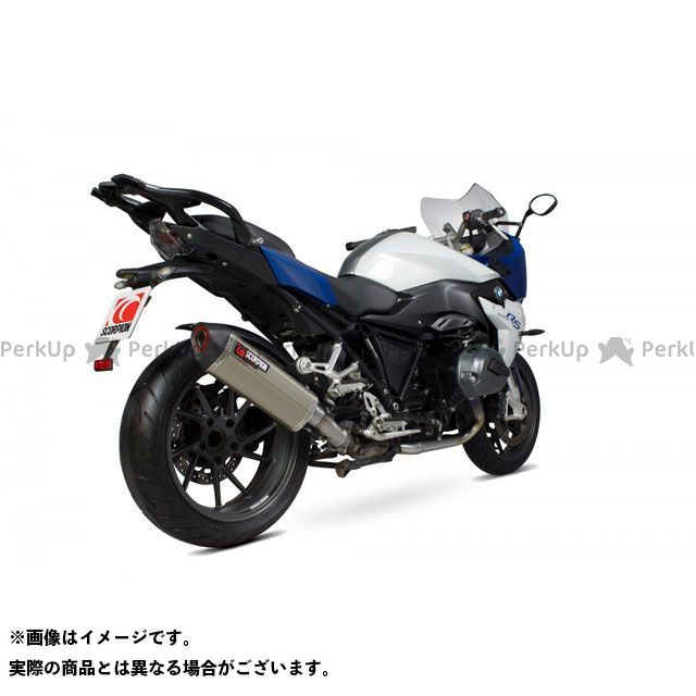 SCORPION R1200R R1200RS マフラー本体 Serket Slip-on Titanium Sleeve EC Approved | RBM79TEO SCORPION