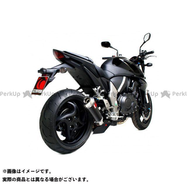 【エントリーで最大P23倍】SCORPION CB1000R マフラー本体 Power Cone(パワーコン) スリップオン カーボンファイバースリーブ Homologated Honda CB 1000 R 2008-20 | EHA101CEO S…