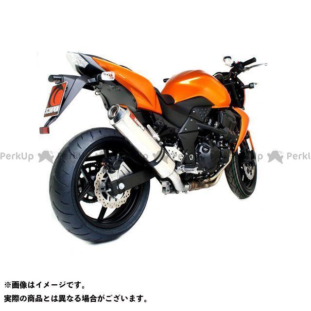 【エントリーで最大P21倍】SCORPION Z750 マフラー本体 Factory オーバルスリップオン ステンレススリーブ Homologated Kawasaki Z 750 07-12 2007-2012 | EKA78SEO SCORPION