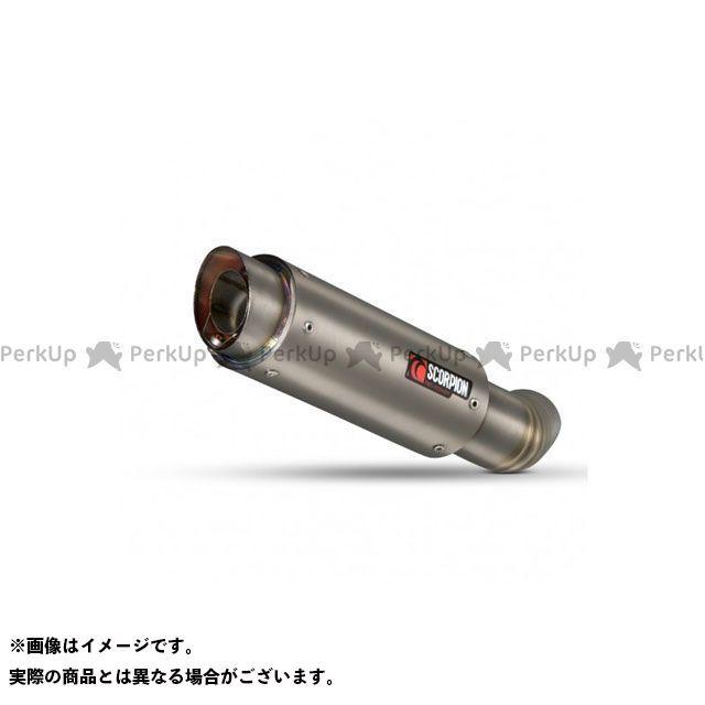 【エントリーで最大P23倍】SCORPION Z1000 マフラー本体 RP1-GP スリップオン(ペア) Titanium Sleeve Homologated Kawasaki Z1000 2010-2013 | KA1009TEM SCORPION