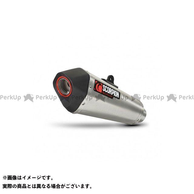 【無料雑誌付き】SCORPION Z1000 マフラー本体 Serket(Taper)テーパースリップオン(ペア) ステンレススリーブ Homologated Kawasaki Z 1000 14-Curre   RKA106SEO SCORPION