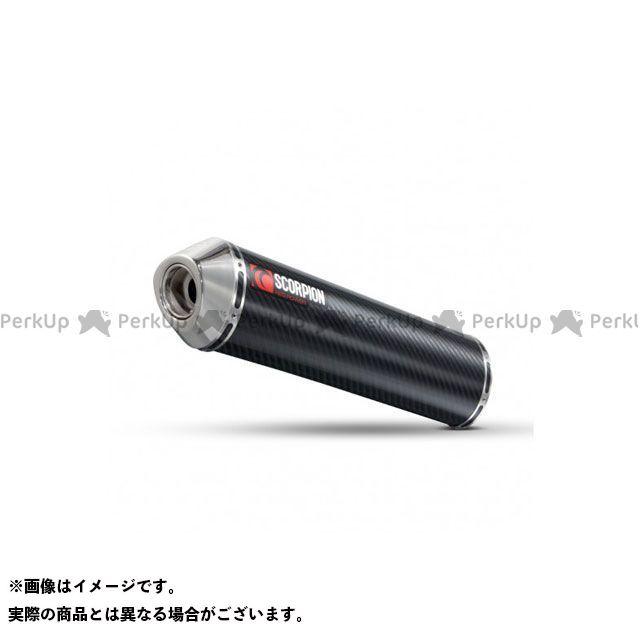 【エントリーで最大P23倍】SCORPION Vストローム650 マフラー本体 Factory オーバルスリップオン Carbon Fibre Sleeve Homologated Suzuki DL 650 V Strom 200   ESI81CE…