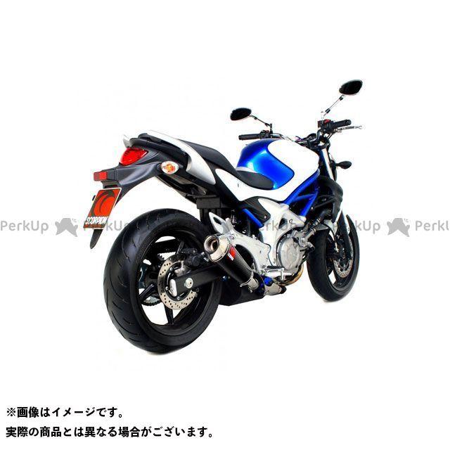 【エントリーで最大P23倍】SCORPION グラディウス650 マフラー本体 Power Cone(パワーコン) スリップオン カーボンファイバースリーブ Homologated Suzuki Gladius 650 2009-| ESI105CEO…