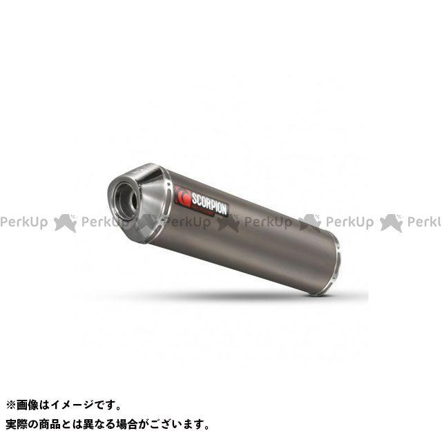 【エントリーで最大P23倍】SCORPION バンディット650 マフラー本体 Factory ラウンドスリップオン Titanium Sleeve Homologated Suzuki GSF 650 Bandit 2007-| ESI98TEM S…