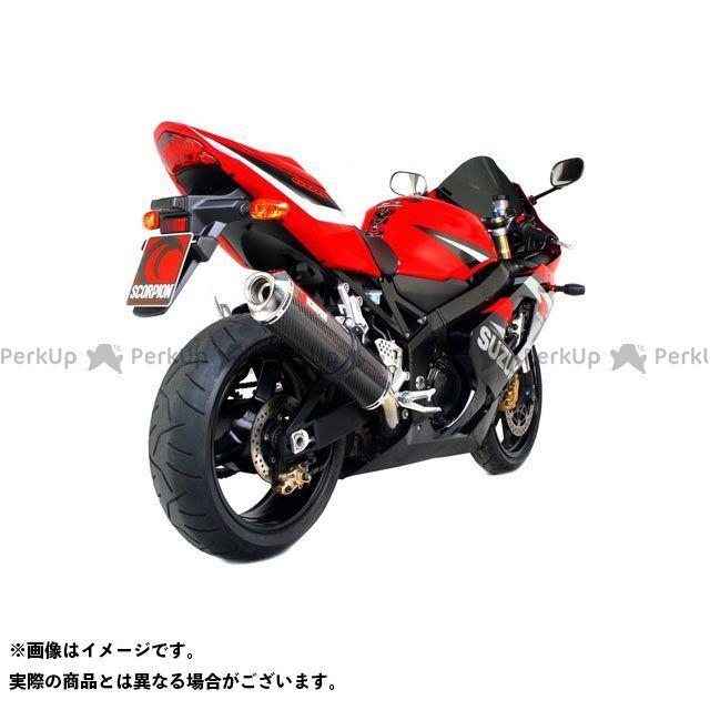 【エントリーで最大P23倍】SCORPION GSX-R600 マフラー本体 Factory オーバルスリップオン カーボンファイバースリーブ Homologated Suzuki GSX-R 600 00-05 2000-2 | ESI72CEO S…