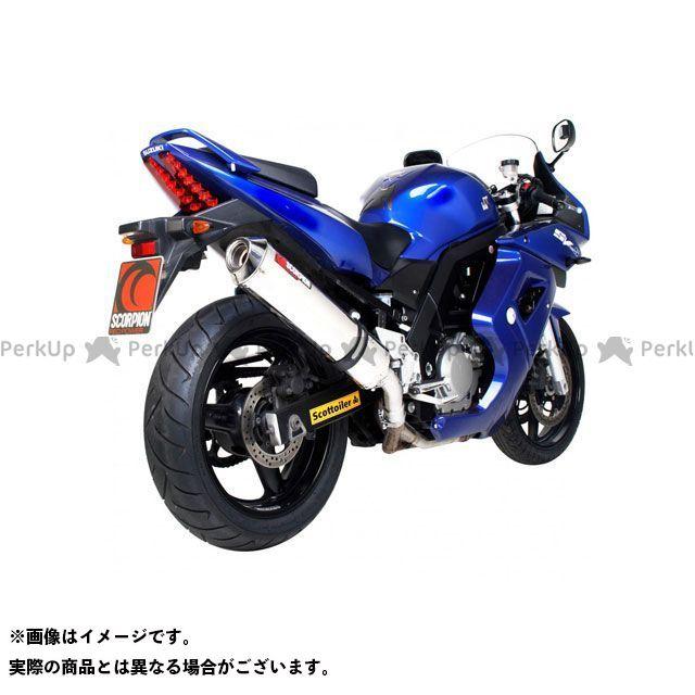 【エントリーで最大P21倍】SCORPION SV650 マフラー本体 Factory オーバルスリップオン ステンレススリーブ Homologated Suzuki SV 650 99-02 1999-2002 | ESI65SEO SCORPION