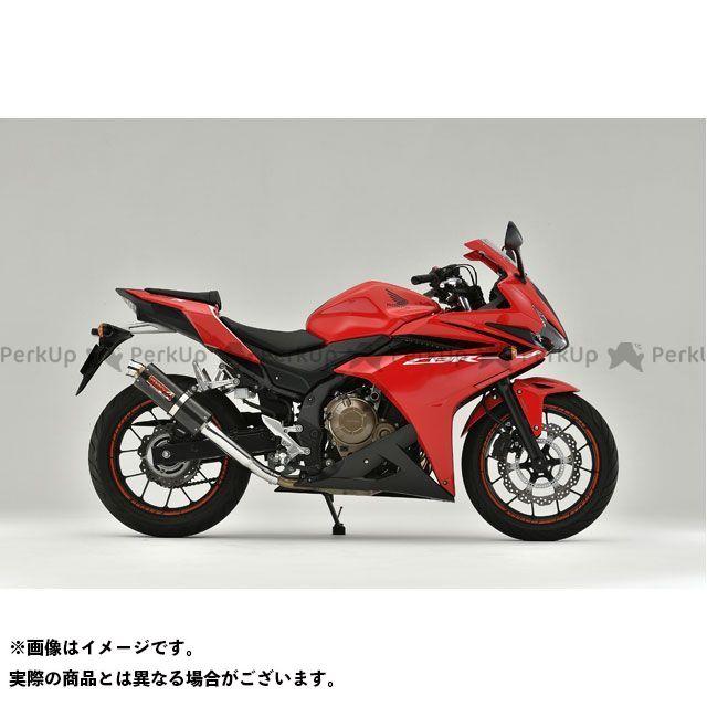 【エントリーで最大P23倍】YAMAMOTO RACING CBR400R マフラー本体 16~18CBR400R SLIP-ON カーボン ヤマモトレーシング