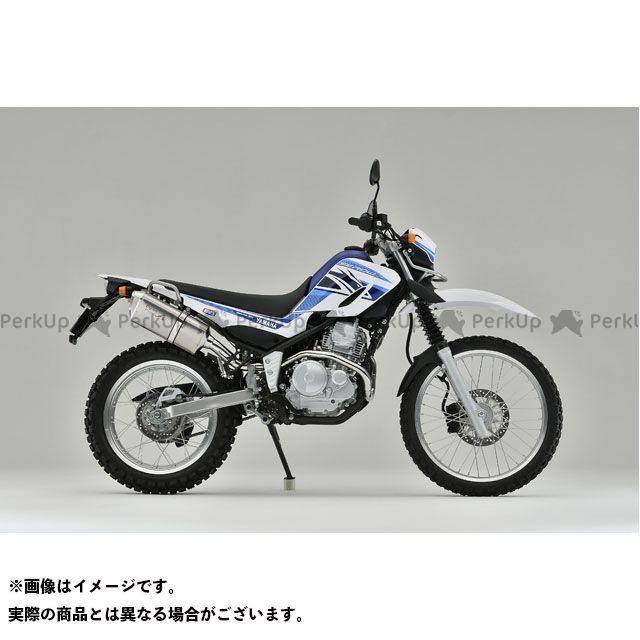 【エントリーで最大P23倍】YAMAMOTO RACING セロー250 マフラー本体 SEROW250 SUS TYPE-SA ヤマモトレーシング