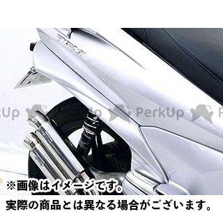 WirusWin PCX125 カウル・エアロ PCX(JF28)用 ワイドサイドカバー(塗装無し)