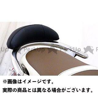 WirusWin その他のモデル タンデム用品 Fino用 バックレスト付き 32φタンデムバー タイプ:ブライアントタイプ バックレストサイズ:ラージ ウイルズウィン