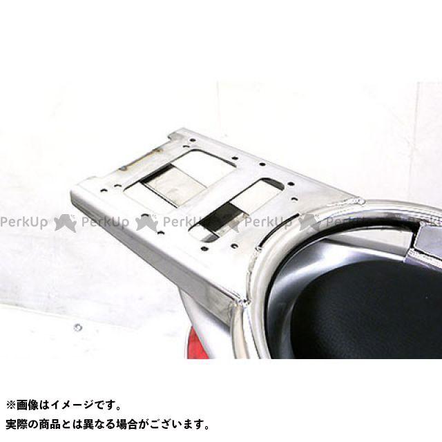 WirusWin ミオ タンデム用品 Mio125i/RR(純正リアスポイラー未装着車)用 リアボックス用ベースブラケット付きタンデムバー タイプ:ブライアントタイプ ウイルズウィン