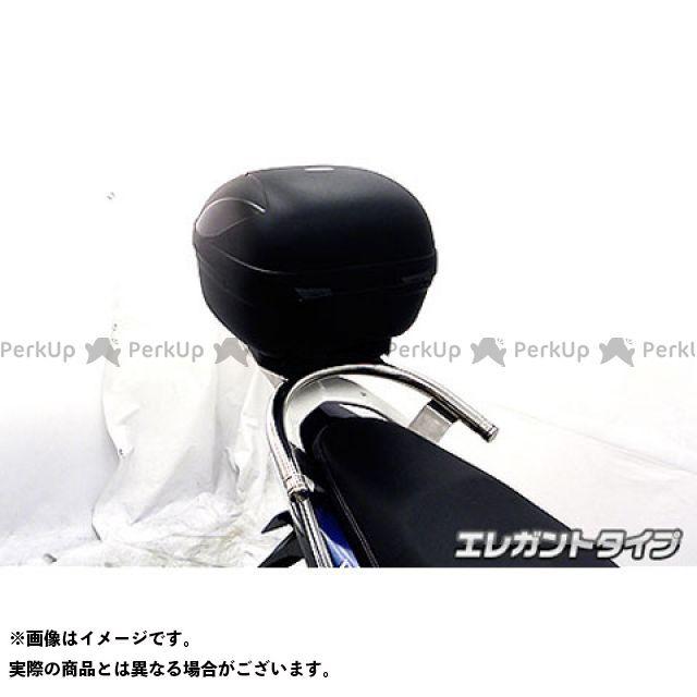 WirusWin ミオ タンデム用品 Mio125MX/GP(純正リアスポイラー装着車)用 リアボックス付きタンデムバー タイプ:エレガントタイプ ウイルズウィン