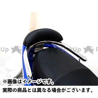 WirusWin レーシングキング180FI タンデム用品 RACING KING180Fi用 バックレスト付き 32φタンデムバー タイプ:ブライアントタイプ バックレストサイズ:スモール ウイルズウィン